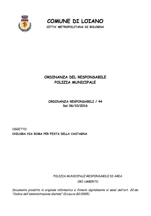 polizia municipale bologna orari via ferrari - photo#35