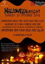 "Lunedì 31 ottobre ""Halloween Night"" a Bibele MedSPA"