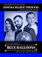 """Venerdì 16 dicembre Concerto di Natale con """"Blue Balloons 50'S Live Music Band"""""""