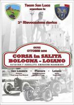 """Sabato 1 e domenica 2 ottobre """"2° Rievocazione Storica - Corsa in salita  Bologna-Loiano"""""""
