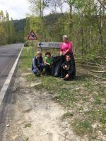 Prima giornata di pulizia dei sentieri del Canile Savena. Liberati i varchi per le passeggiate dei cani
