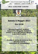Sabato 6 maggio attività nella serra dell' Istituto Agrario di Loiano