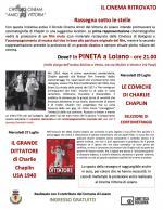 """Mercoledì 20 e 27 luglio, """"Rassegna sotto le stelle"""" in Pineta a Loiano"""