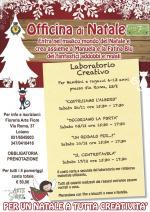 """Dal 26 novembre al 17 dicembre  """"Officina di Natale"""", i laboratori creativi per bambini e ragazzi"""