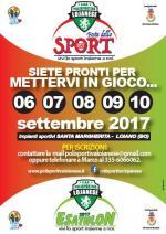 """Da mercoledì 6 a domenica 10 settembre, """"Festa dello Sport"""" a Loiano"""