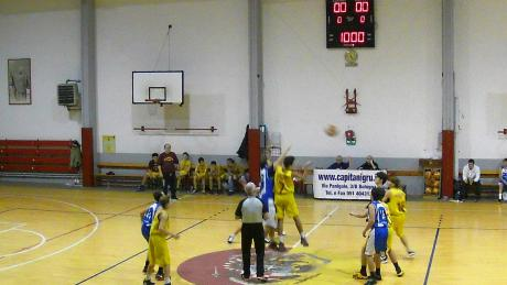 Basket Under15: Pallavicini- Basket Loiano 2015 42-59