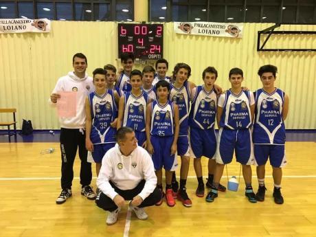 Basket Loiano 2015 seconda nel girone C. Si qualifica nei play off del campionato F.I.P regionale under 15.