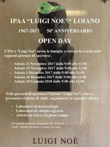 Open Day all' IPAA 'Luigi Noè' di Loiano