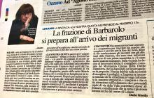 """Sempre più probabile l'arrivo di migranti a Barbarolo. M5S: """"è necessario informare costantemente i cittadini"""""""