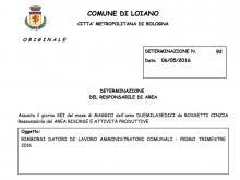 Costano 880 euro al mese i venerdì in Comune dell'Assessore Nanni