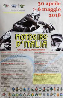 """Domenica 6 maggio il """"Motogiro d'Italia"""" farà tappa a Loiano"""